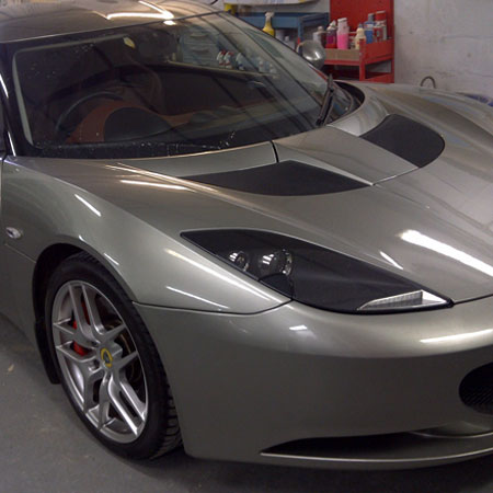 This Lotus came to us as the customer complained of water leaks